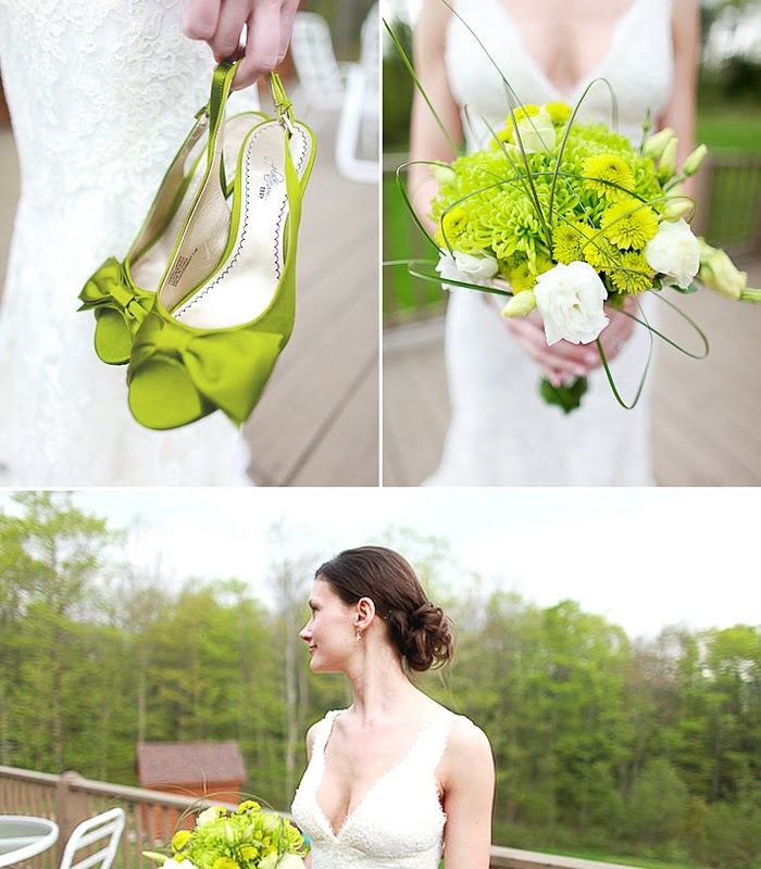 Green Wedding Inspiration for St Patrick 39s Day